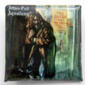 Jethro Tull - 'Aqualung' Square Badge